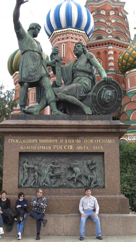 Памятник Минину и Пожарскому, Красная площадь