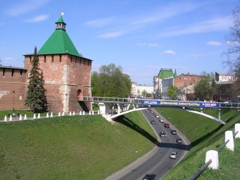 Вверх к Кремлю