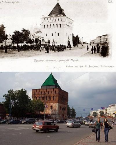 Пл. Минина и Пожарского, 100 лет спустя