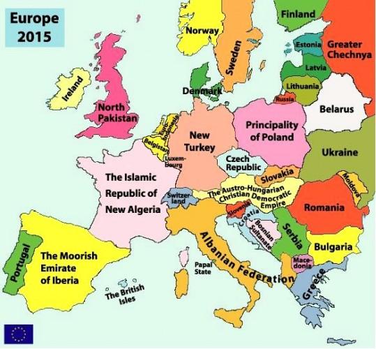 Европа в 2015 году