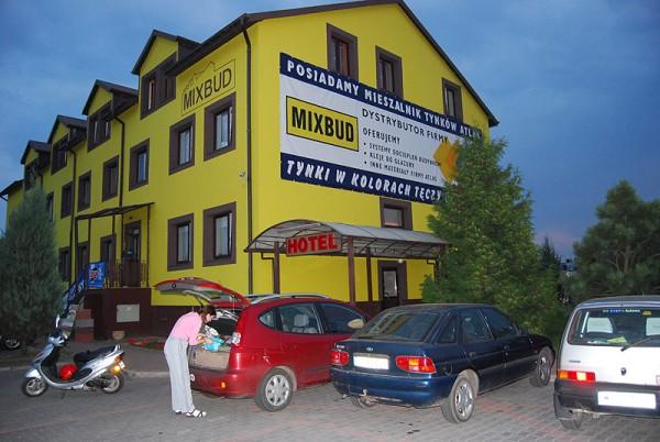 Наш польский мотельчик