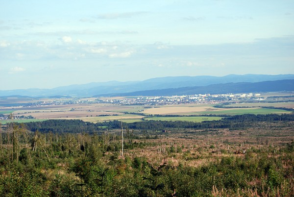 Вид с окраины города