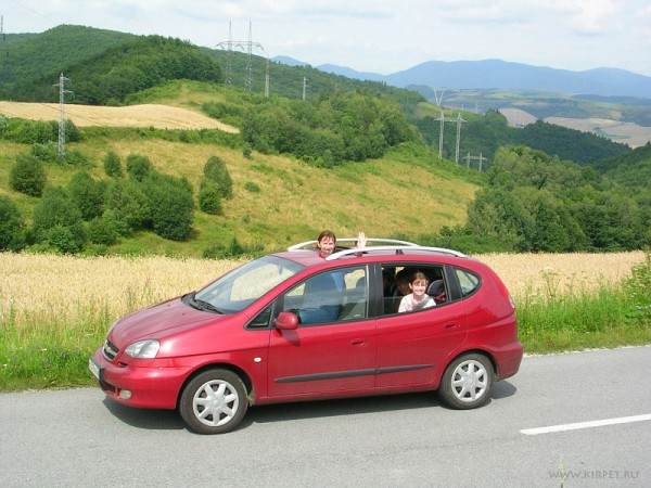 Петляем по словацким холмам...