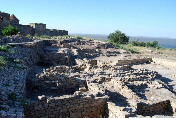 Раскопки Тиры