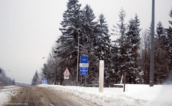 Граница Польша-Словакия