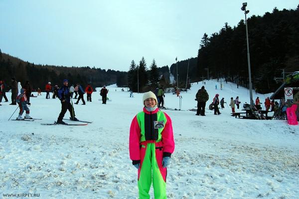 Кира-лыжница