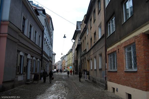 Улочка в еврейском квартале