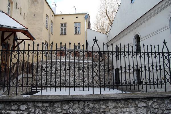 Фрагмент городской стены