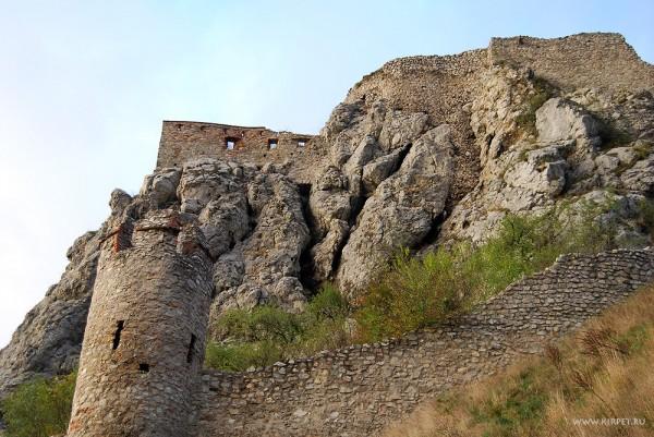 Крепость, вид снизу
