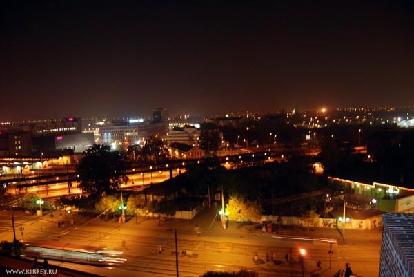 Брно ночью