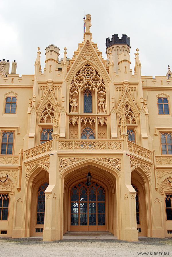 Дворец с внутренней стороны