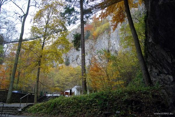 Выход из пещеры Пункевни
