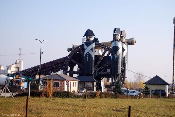 Бетонный заводик