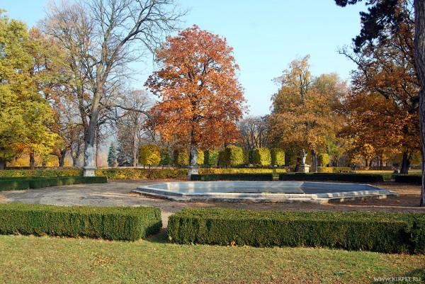 Парк за Славковским замком