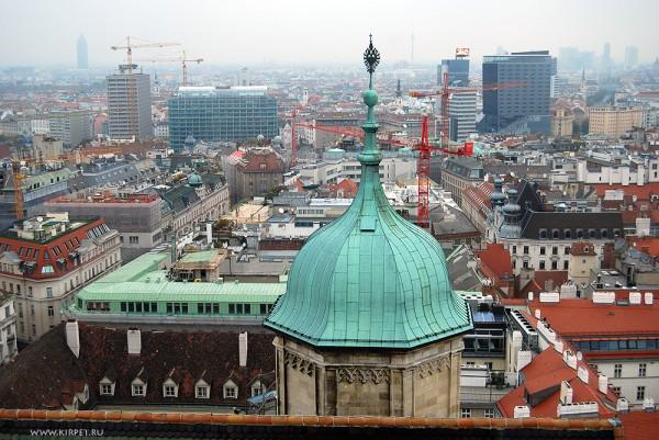 Вид с вершины собора