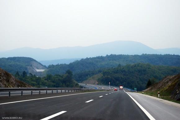 Хорватская автомагистраль