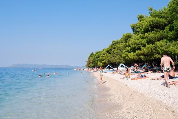 Хорватия, пляж