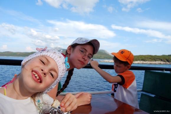 Дети на корабле