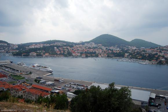 Западная часть Дубровника