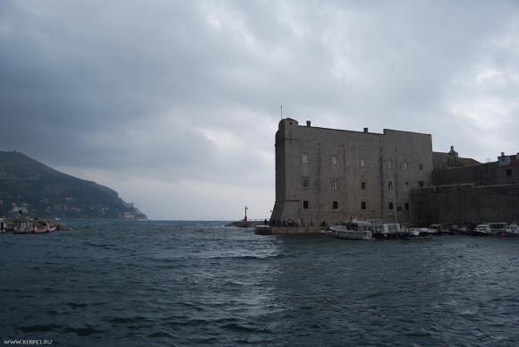 Вид на форт
