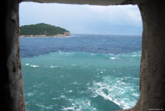 Сине-зеленое море