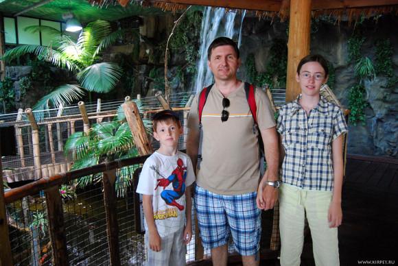Мы в тропическом зале