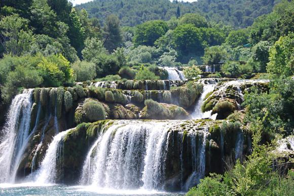Водопад Скрадинский бук
