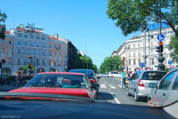На одной из улиц