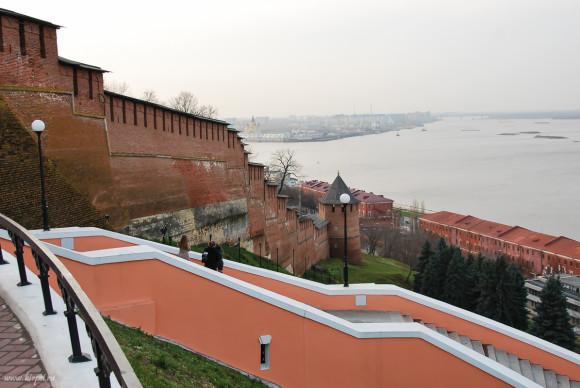 Кремль и лестница