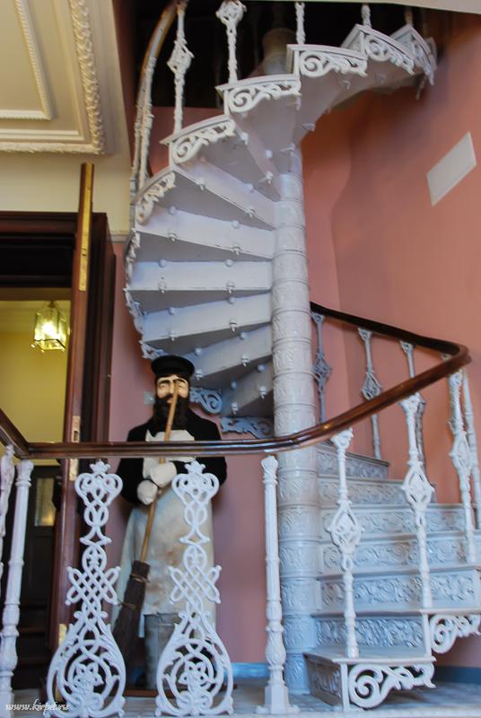Лестница для дворника
