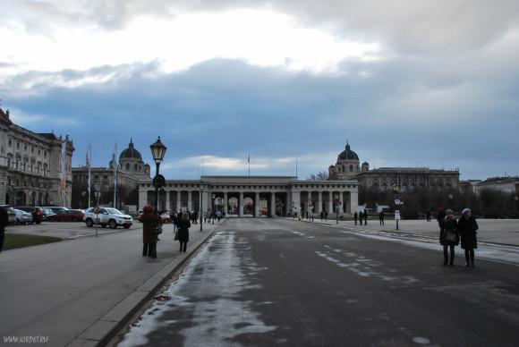 В центре Вены