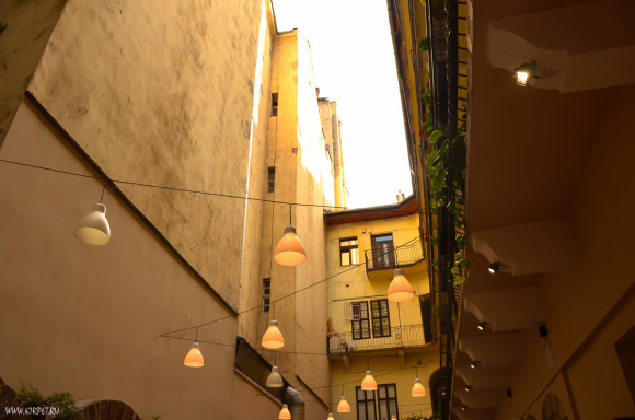 Ресторанчик между домами