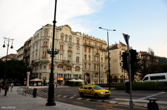 На улицах Будапешта