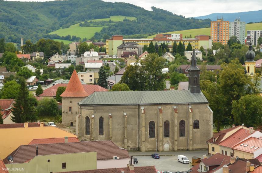 Вид на францисканский костел