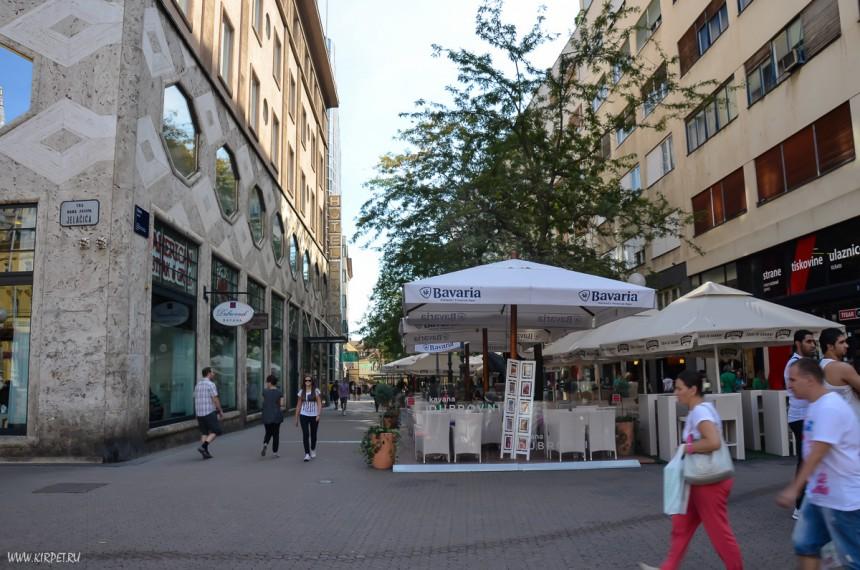 В центре Загреба