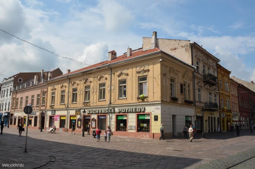 На главной улице