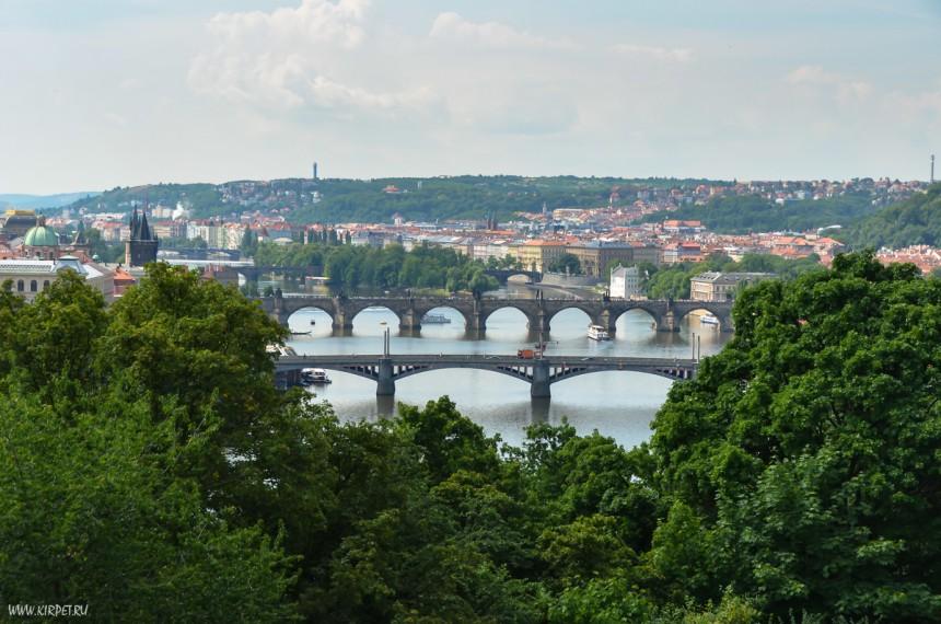 Мосты через Влатаву