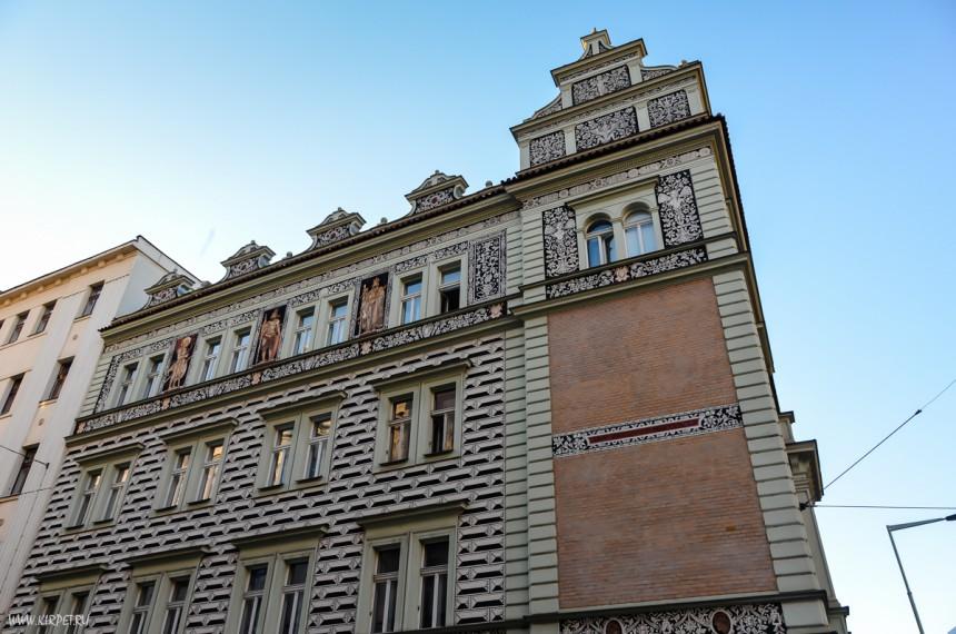 Здание - Прага 7