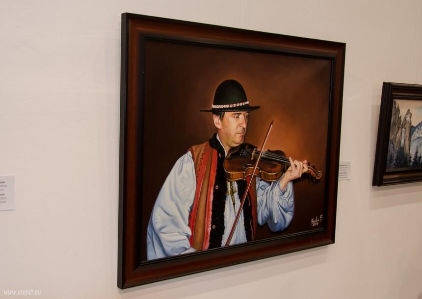 Картина музыканта