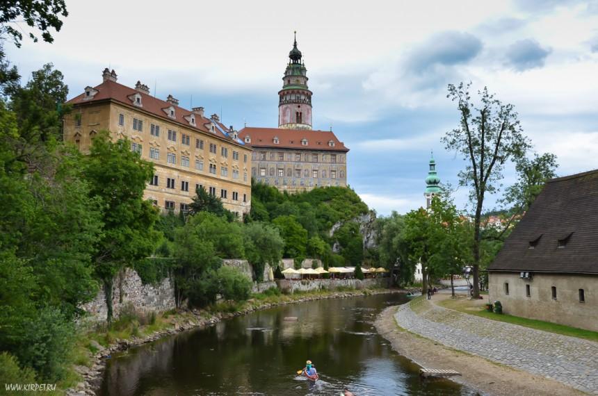 Замок и Влтава
