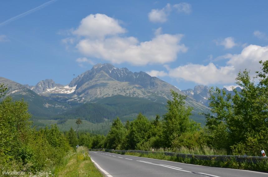По дороге в Татры