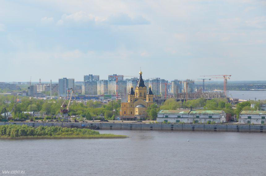 Вид на Собор А. Невского