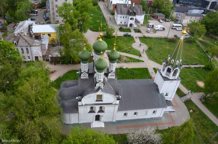 Успенская церковь сверху