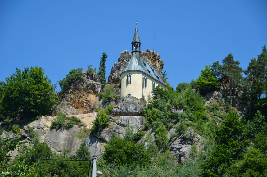 Скальный град Вранов