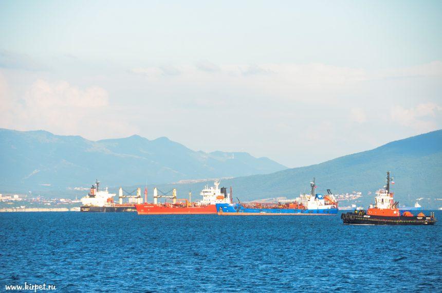 В Новороссийской бухте