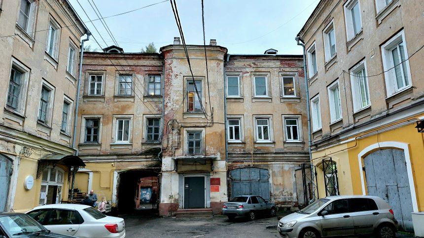 Дворик на ул. Рожденственской
